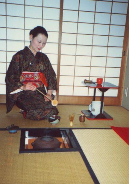 ceremonía del té japonesa